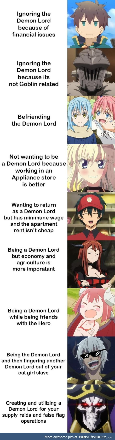 Demon Lord tier list fixed