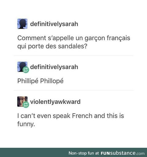 French jokes