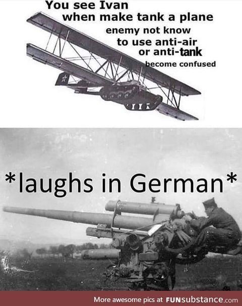 *laughs in german*