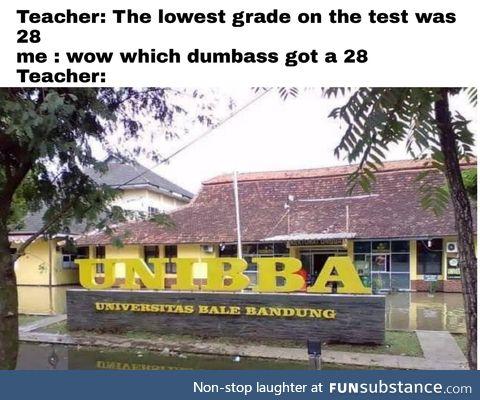Ur a dumbass, nibba