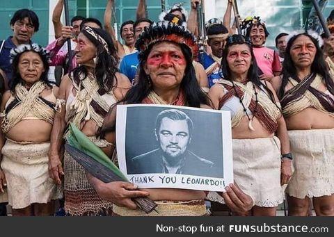 Leonardo DiCaprio's Earth Alliance Donates $5 Million to Amazon Rainforest Fires