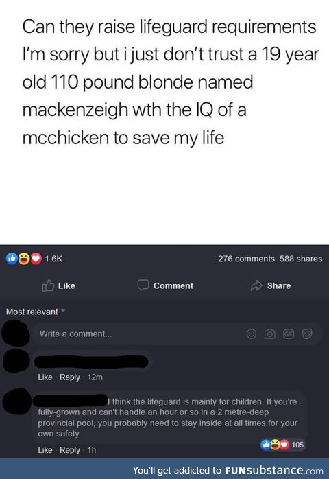 IQ of a McChicken