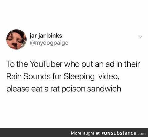 Rat poison sandwich
