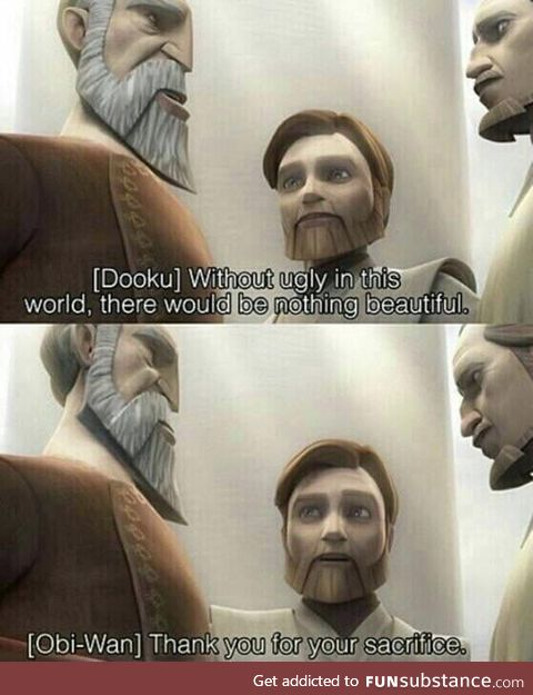 Anakin isn't the only one Obi-wan has flamed