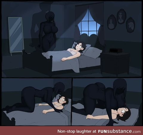 Sleep paralysis?