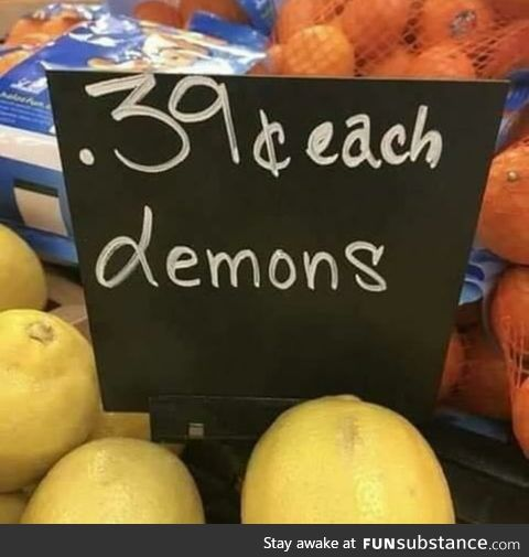 Demons for sale