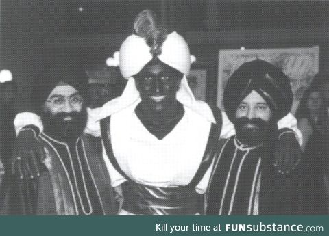 Is this brown face or black face?  Another liberal exposed.
