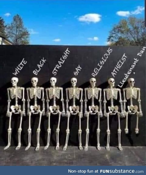 We're all the same on the inside