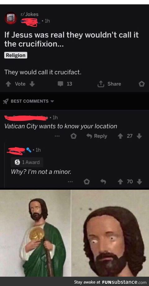 Crucifact