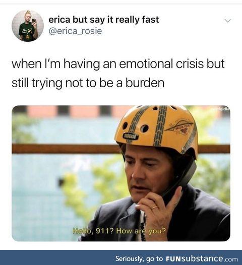 Why cruel world
