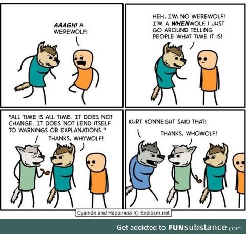 Wolfs are cool