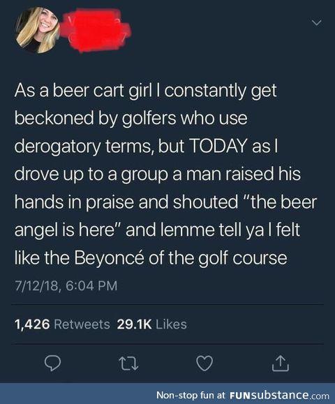 Beer queen!!!!!!!!!!!!!!!!!!!