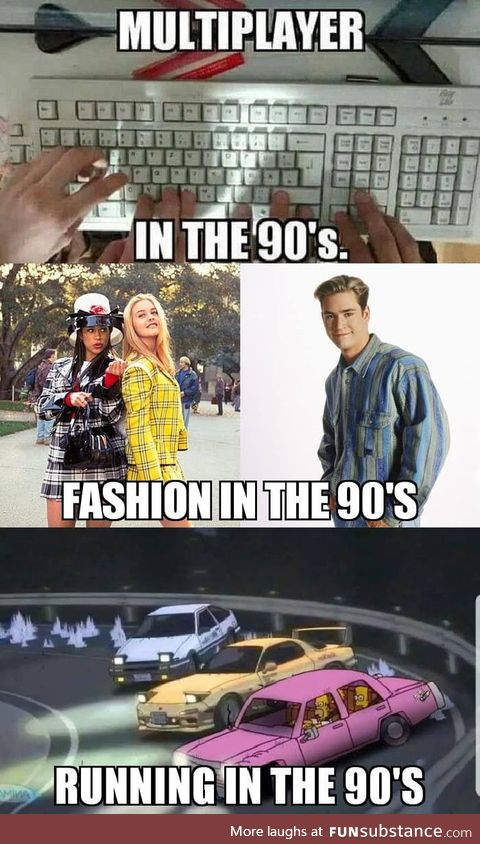 We are _____ in the 90's