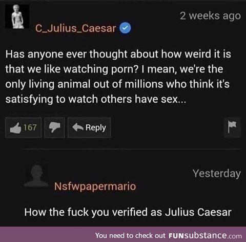 Verified julius caesar