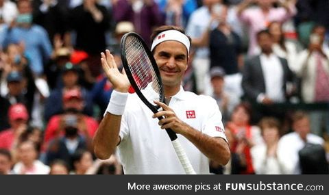 Roger Federer.. He is 38. And played almost 5 hour against Djokovich. Real legend..!