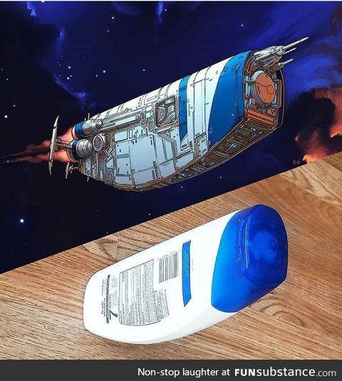 Artist imagines ordinary objects as spaceships