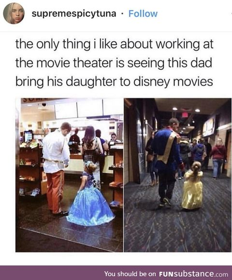 That's one awesome dad