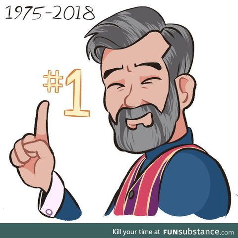 It's been just over a year since we lost our number one