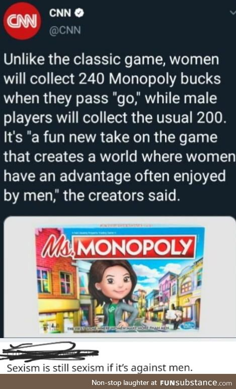 We did it boys, sexism is no more