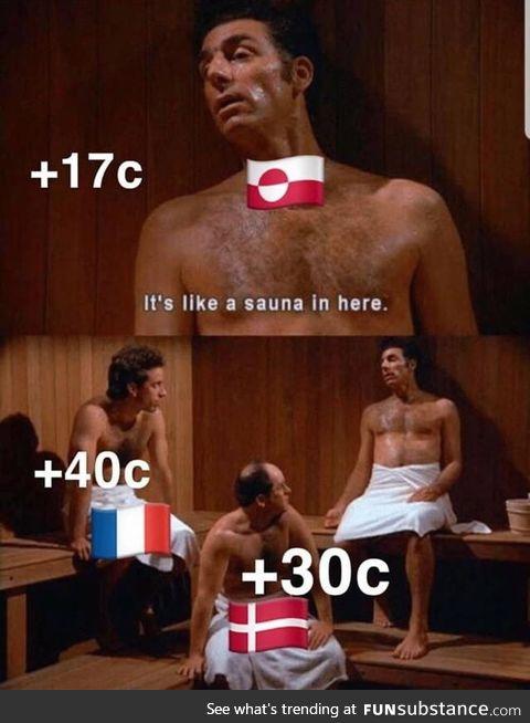 Greenland be like