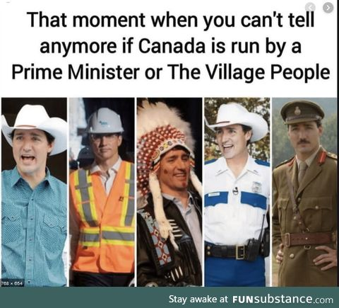 Justin Brown face Trudeau owes many apologies ;)
