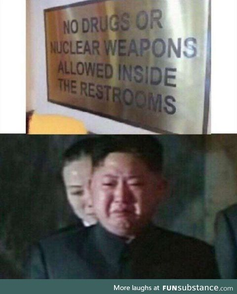 No nuclear inside