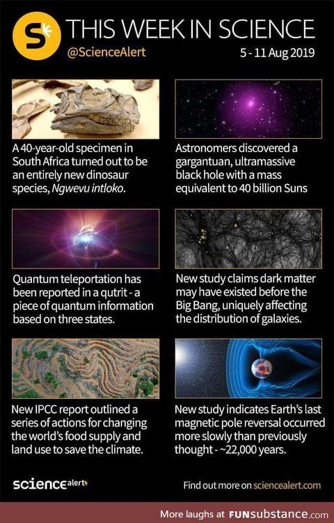 This week in Science :)
