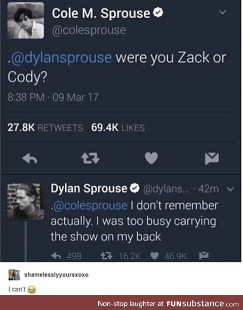 I love their twitter debates