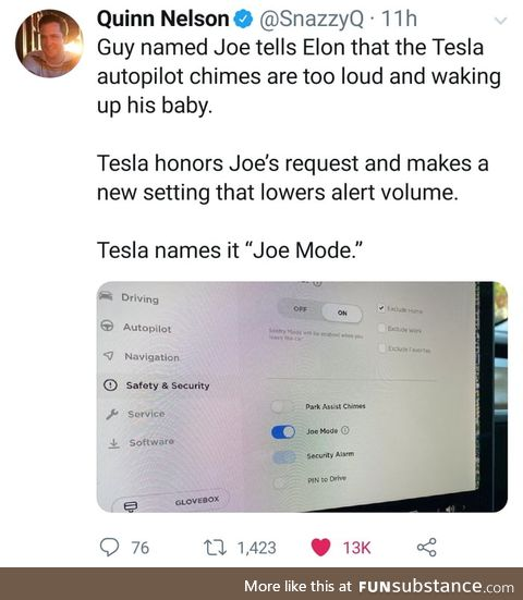 Joe mode