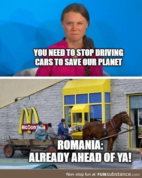 Make Romania great again! Oh, wait