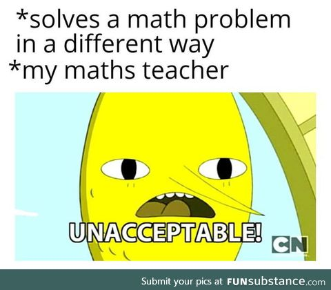 Maths suck