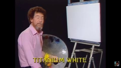 Just some wholesome Bob Ross moments