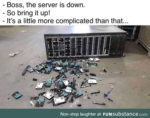 Take care of your servers