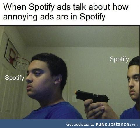 Watch this video to get 30 minutes of ad free listening