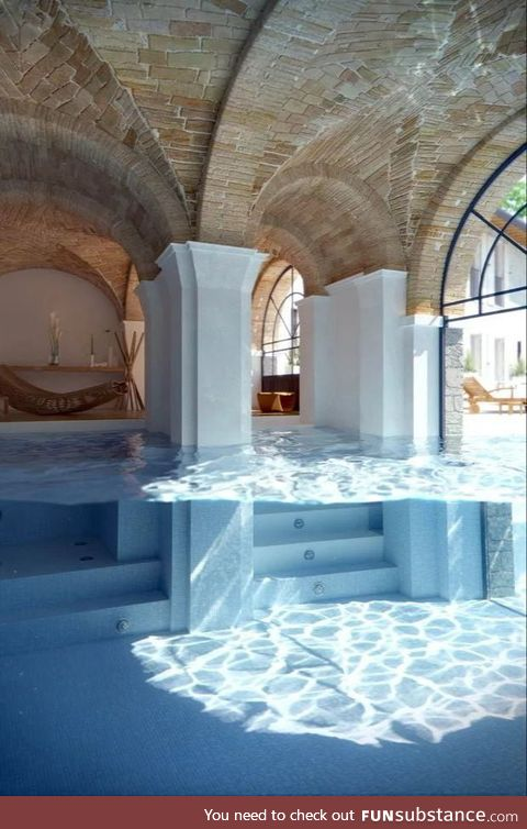 Who wouldn't love to swim in here?
