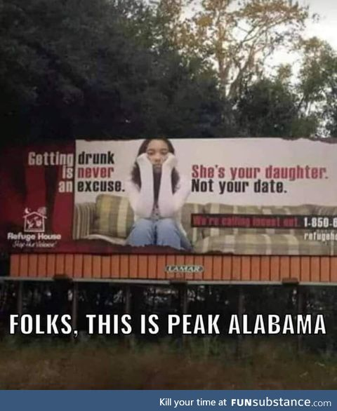 Great job Alabama