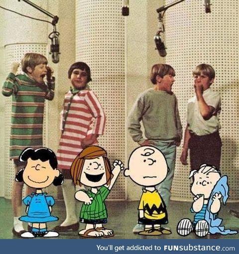 Peanuts IRL, circa 1964