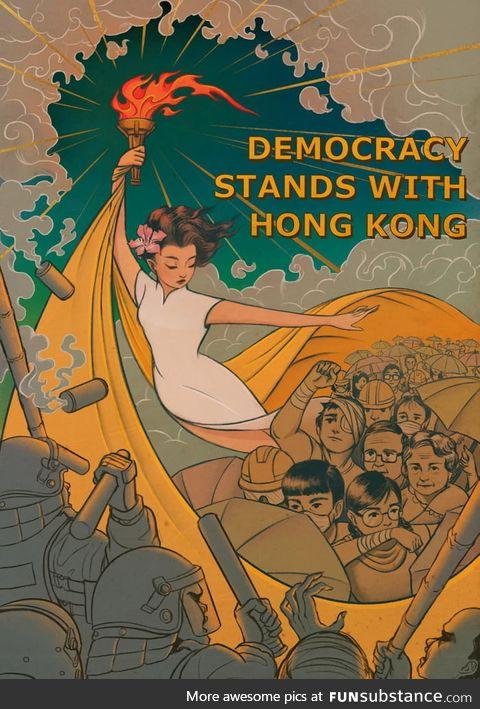 Stay strong Hong Kong!