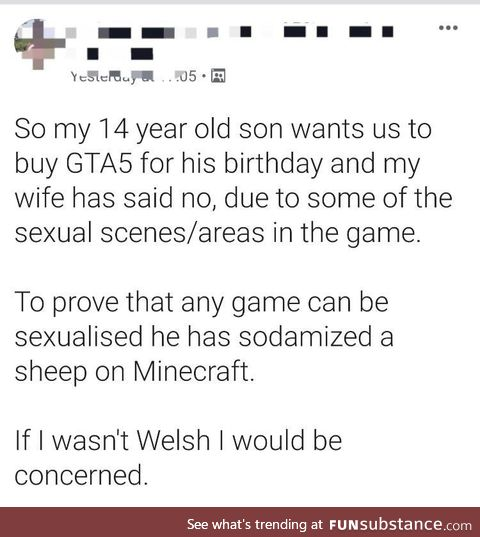 Those Welsh people