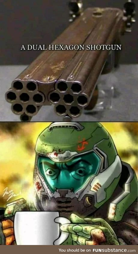Doomguy approves.