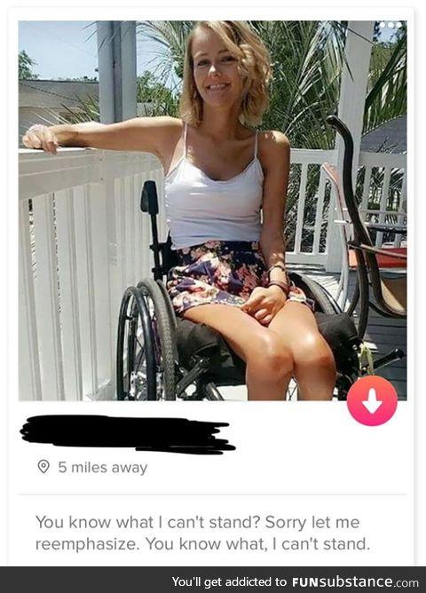 Good sense of humor