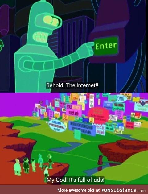 Did Futurama (1999) just predict the future?