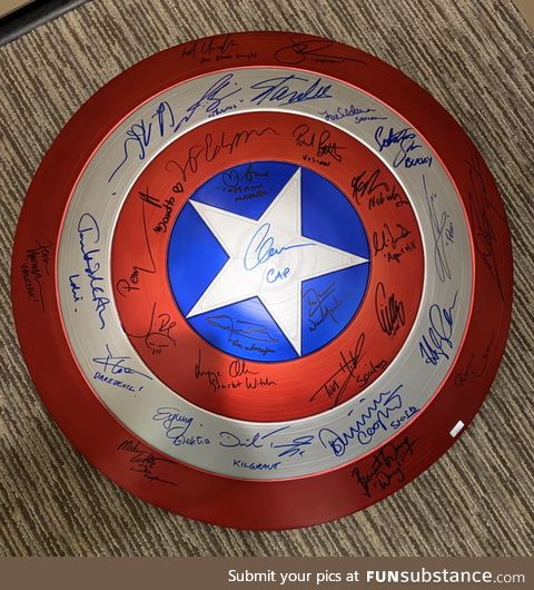 Started with Stan Lee, never thought I'd make it here. 32 signatures