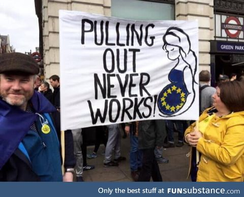 From the Brexit March!