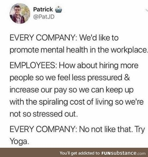 How to promote mental health in the workplace