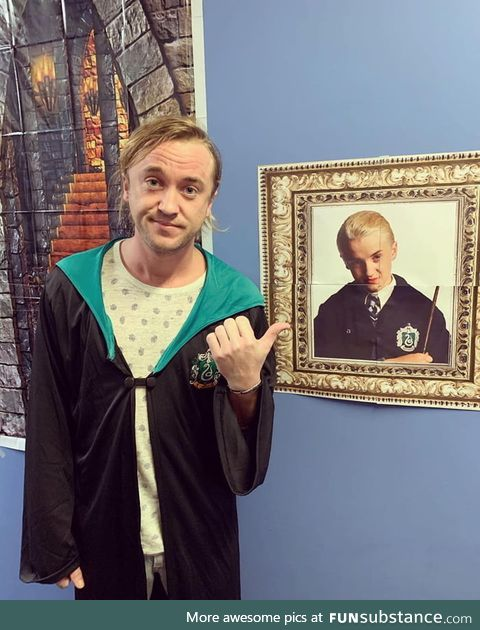 Malfoy all grown up