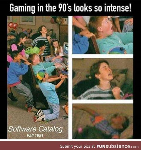 90's Gamer Moment