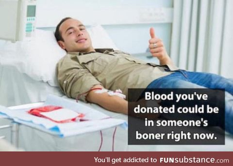 For all you Donors out there
