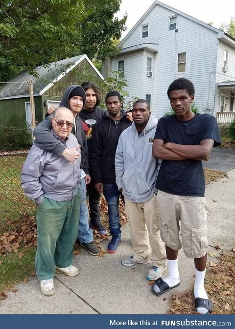 These boys saved there elderly neighbor from his house when it caught on fire