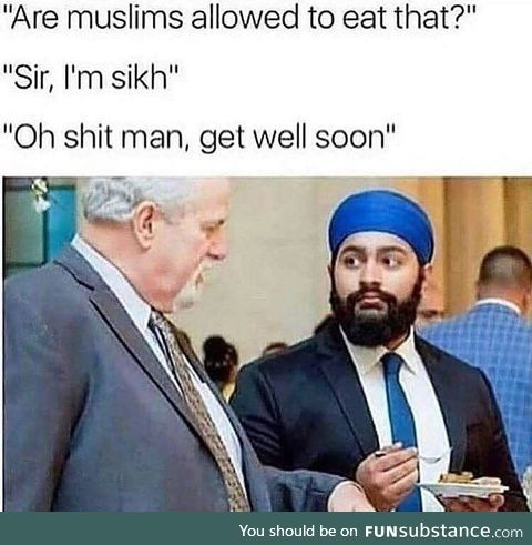 Don't worry about other peoples food, bud